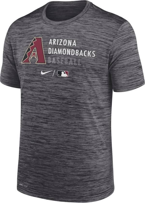 Nike Men's Arizona Diamondbacks Black Authentic Collection Velocity Practice T-Shirt product image