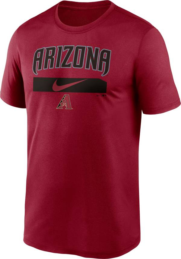 Nike Men's Arizona Diamondbacks Sedona Red Practice Cotton T-Shirt product image