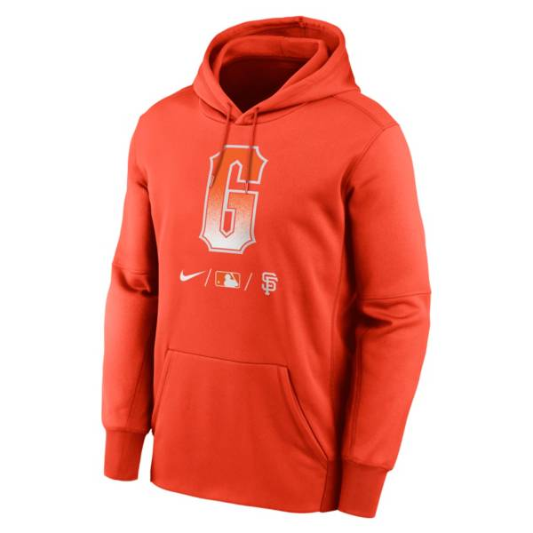 Nike Men's San Francisco Giants Orange 2021 City Connect Therma-FIT Hoodie product image