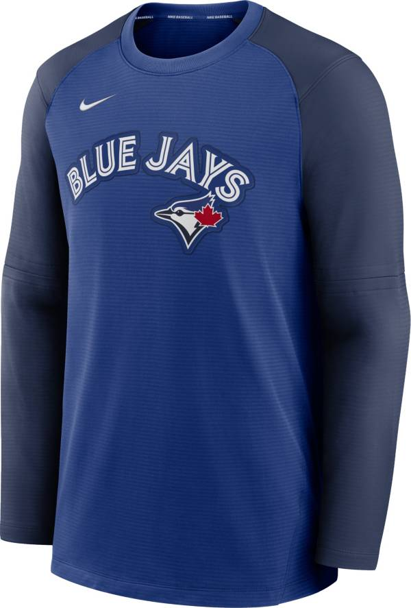 Nike Men's Toronto Blue Jays Blue Authentic Collection Pre-Game Long Sleeve T-Shirt product image