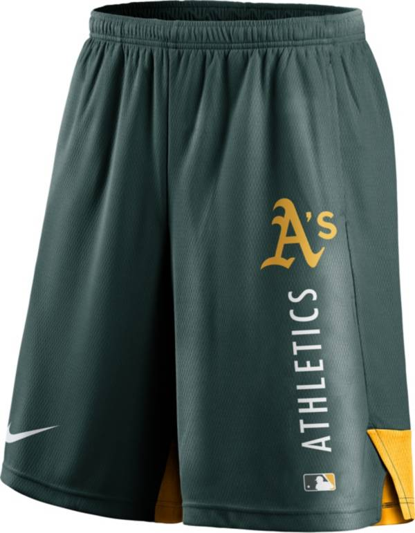 Nike Men's Oakland Athletics Green Authentic Collection Training Short product image