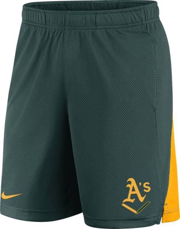 Nike Men's Oakland Athletics Franchise Green Shorts product image