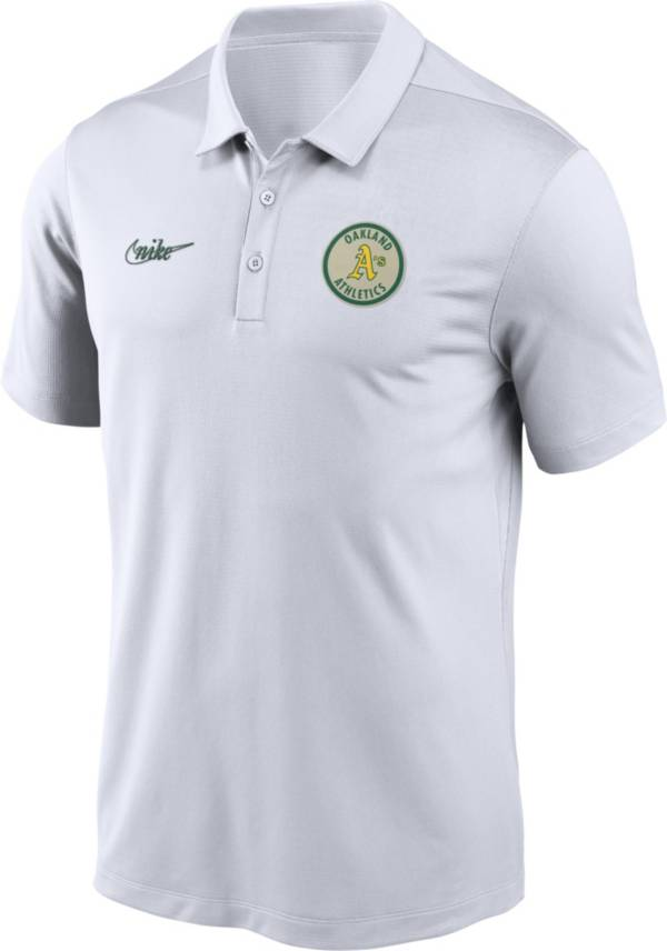 Nike Men's Oakland Athletics Cooperstown Franchise White Polo product image