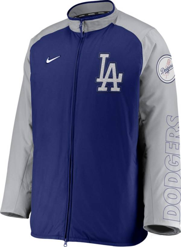 Nike Men's Los Angeles Dodgers Royal Authentic Collection Dugout Full-Zip Jacket product image