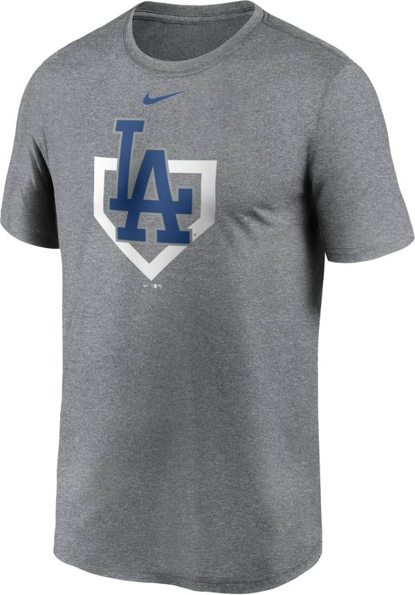 Nike Men's Los Angeles Dodgers Grey Icon T-Shirt product image