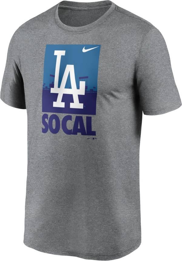 Nike Men's Los Angeles Dodgers Gray Local Legend T-Shirt product image