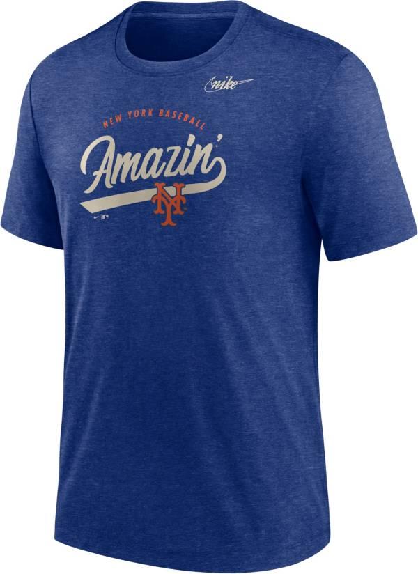 Nike Men's New York Mets Blue Nickname T-Shirt product image