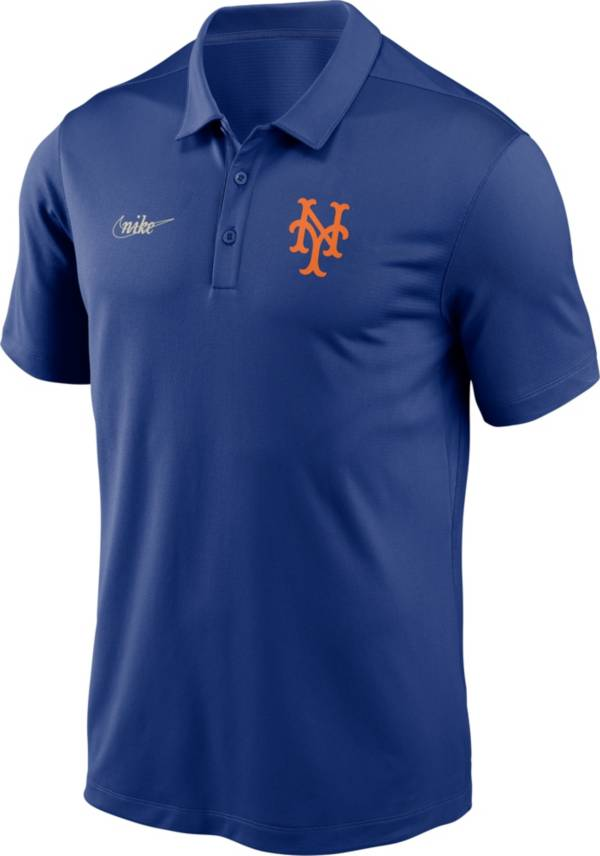 Nike Men's New York Mets Blue Cooperstown Franchise Polo product image
