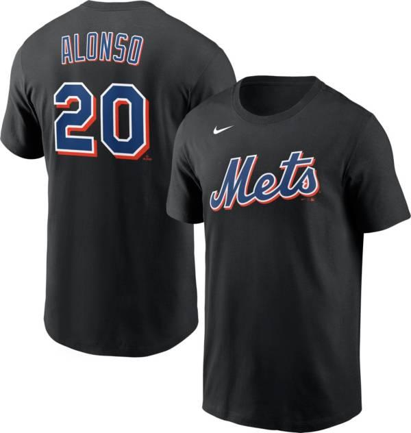 Nike Men's New York Mets Pete Alonso #20 Black T-Shirt product image