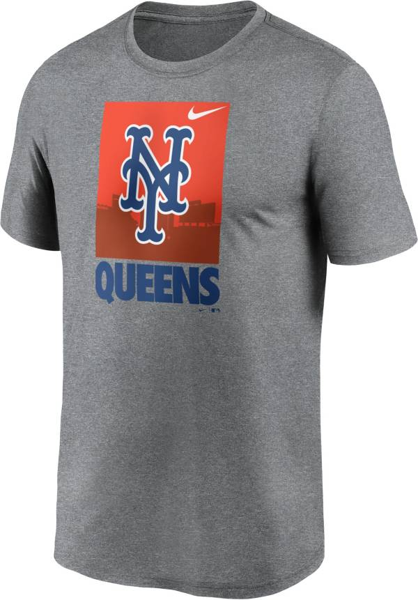 Nike Men's New York Mets Gray Local Legend T-Shirt product image