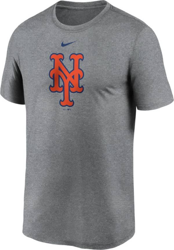 Nike Men's New York Mets Grey Logo Legend T-Shirt product image