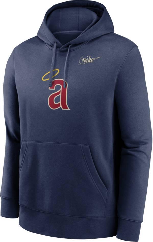 Nike Men's Los Angeles Angels Navy Cooperstown Club Pullover Hoodie product image