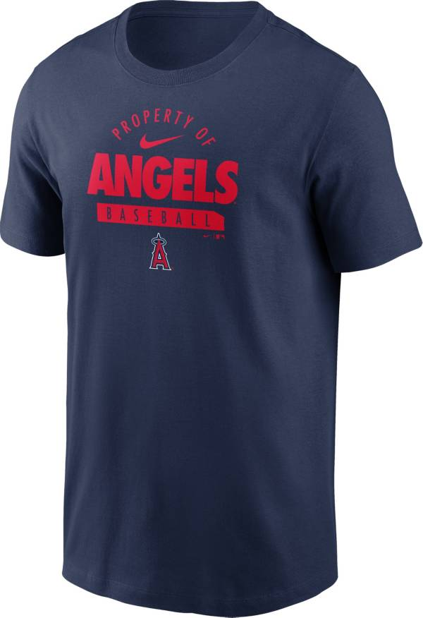 Nike Men's Los Angeles Angels Navy Property Logo T-Shirt product image