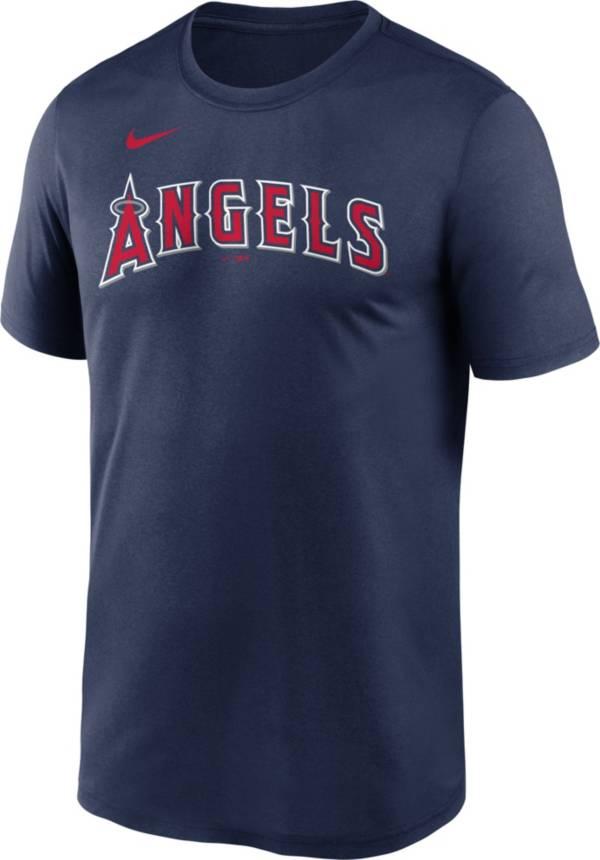 Nike Men's Los Angeles Angels Navy Wordmark Legend T-Shirt product image