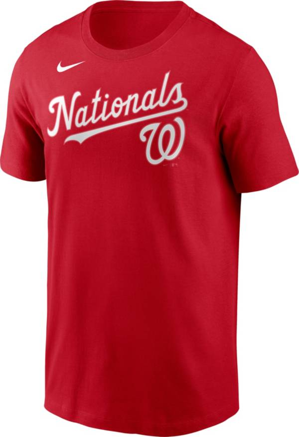 Nike Men's Washington Nationals Wordmark T-Shirt product image