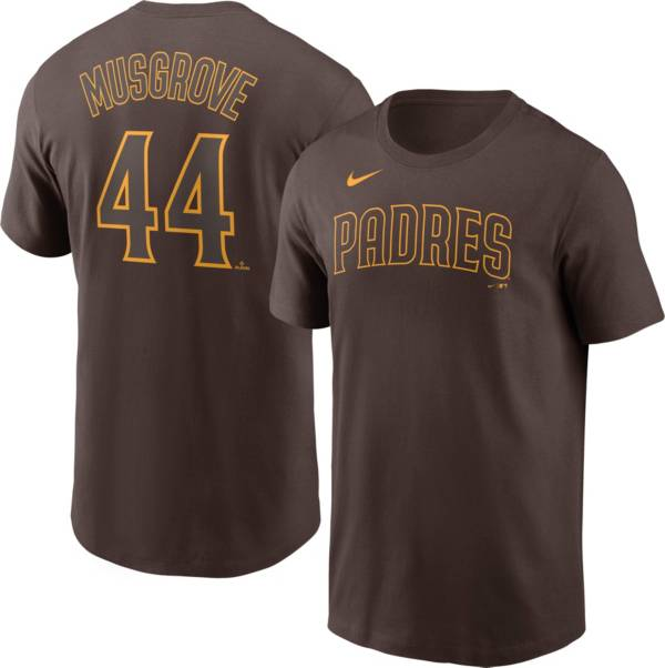 Nike Men's Replica Joe Musgrove #44 Brown Cool Base Jersey product image