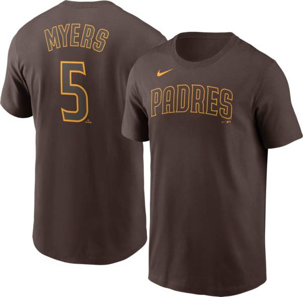Nike Men's San Diego Padres Wil Myers #5 Brown T-Shirt product image