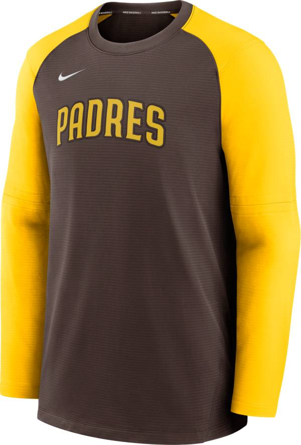 Nike Men's San Diego Padres Authentic Collection Pre-Game Long Sleeve T-Shirt product image