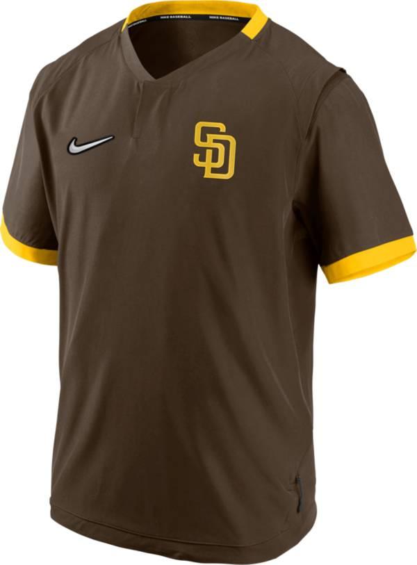 Nike Men's San Diego Padres Short Sleeve Hot Jacket product image