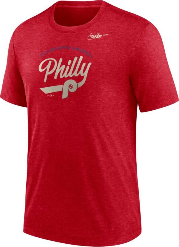 Nike Men's Philadelphia Phillies Red Nickname T-Shirt product image