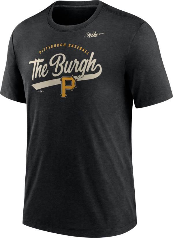 Nike Men's Pittsburgh Pirates Black Nickname T-Shirt product image