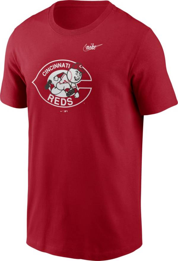 Nike Men's Cincinnati Reds Red Logo T-Shirt product image