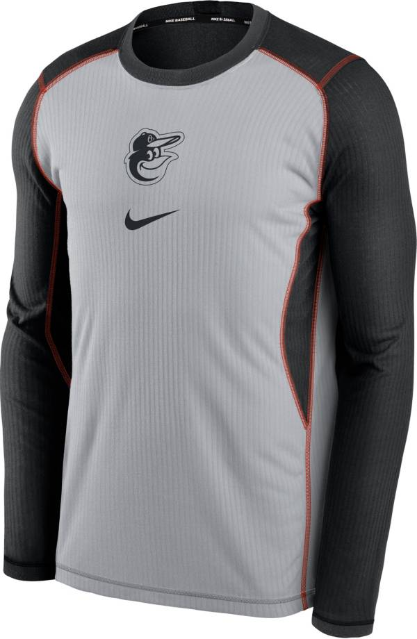 Nike Men's Baltimore Orioles Black Authentic Collection Game Long Sleeve T-Shirt product image