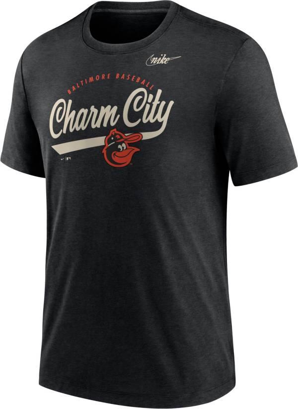 Nike Men's Baltimore Orioles Black Nickname T-Shirt product image