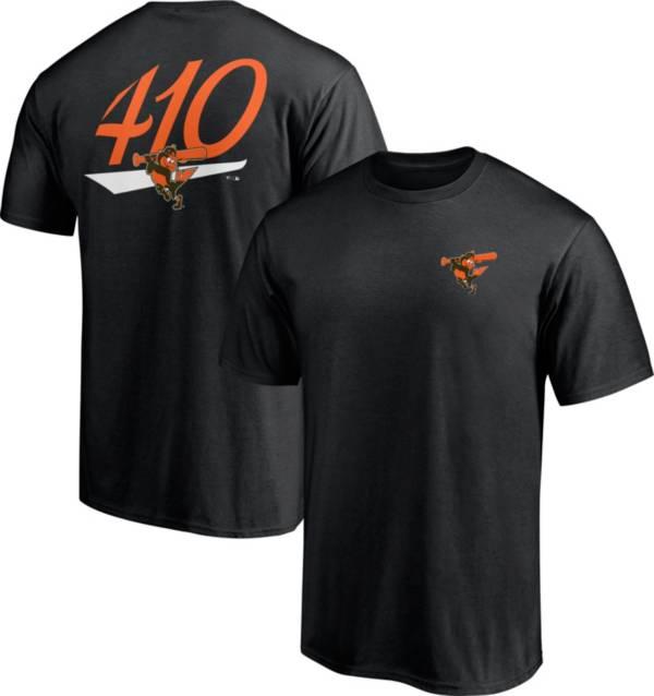 Fanatics Men's Baltimore Orioles Black Hometown T-Shirt product image