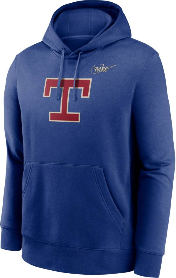Nike Men's Texas Rangers Blue Cooperstown Club Pullover Hoodie product image
