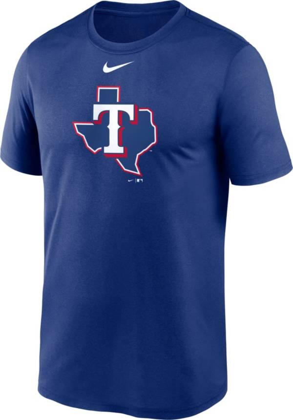Nike Men's Texas Rangers Blue Alternate Logo T-Shirt product image