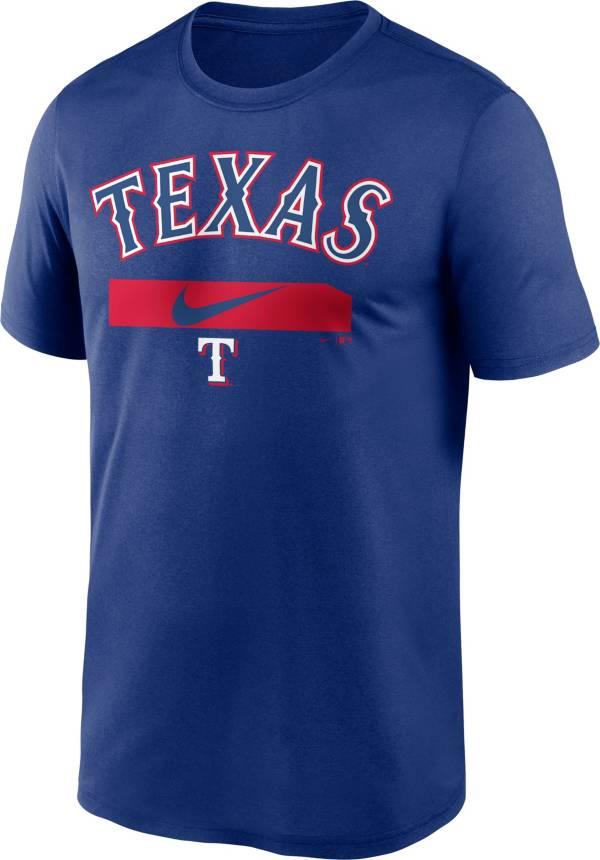 Nike Men's Texas Rangers Blue Practice T-Shirt product image