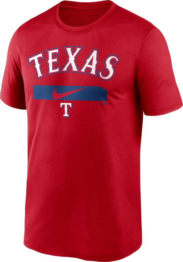 Nike Men's Texas Rangers Red Practice Cotton T-Shirt product image