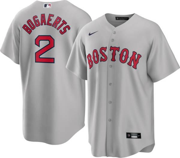 Nike Men's Boston Red Sox Xander Bogaerts #2 Grey Cool Base Jersey product image