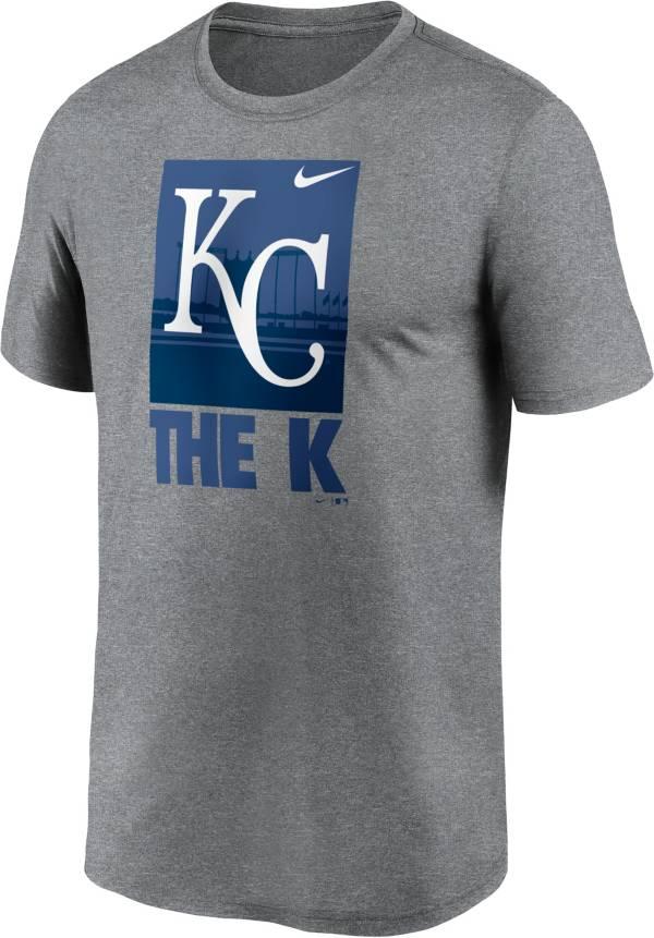 Nike Men's Kansas City Royals Gray Local Legend T-Shirt product image