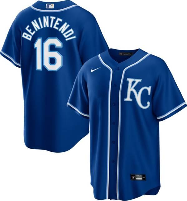 Nike Men's Replica Kansas City Royals Andrew Benintendi #16 Cool Base Royal Jersey product image