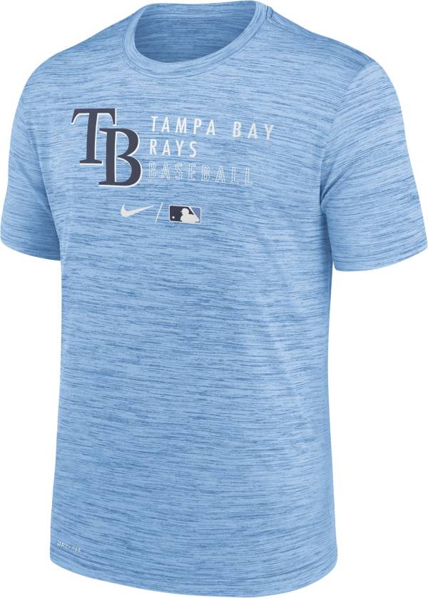 Nike Men's Tampa Bay Rays Blue Authentic Collection Velocity Practice T-Shirt product image