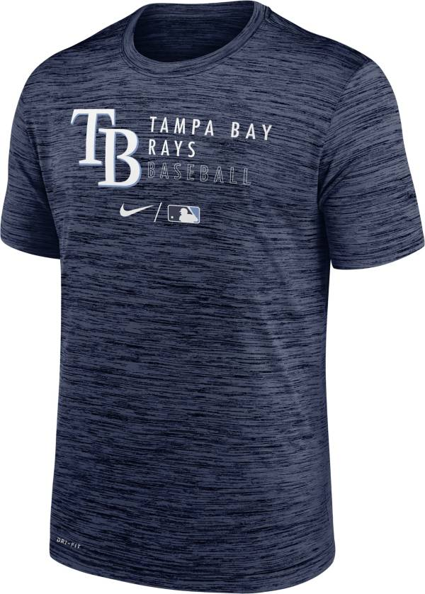 Nike Men's Tampa Bay Rays Navy Authentic Collection Velocity Practice T-Shirt product image