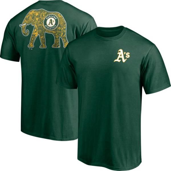Fanatics Men's Oakland Athletics Green Stomper T-Shirt product image