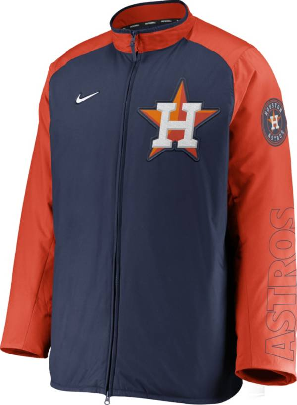 Nike Men's Houston Astros Navy Authentic Collection Dugout Full-Zip Jacket product image