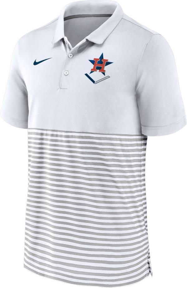 Nike Men's Houston Astros Stripe Blue Polo product image