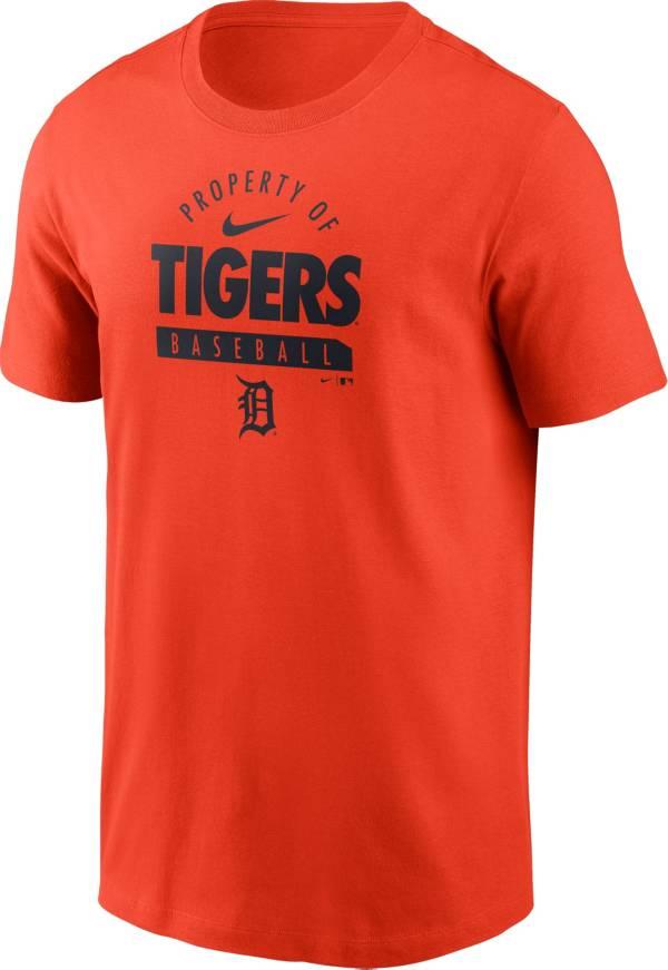 Nike Men's Detroit Tigers Orange 'Property Of' T-Shirt product image