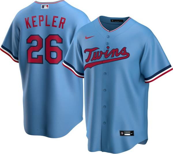 Nike Men's Replica Minnesota Twins Max Kepler #26 Cool Base Red Jersey product image