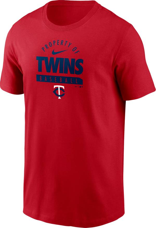 Nike Men's Minnesota Twins Red 'Property of' T-Shirt product image
