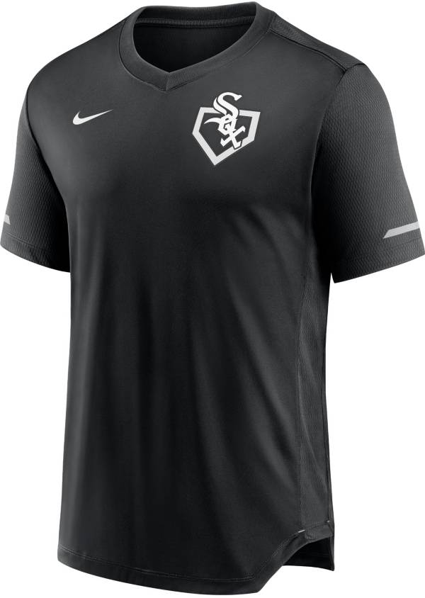Nike Men's Chicago White Sox Black V-Neck Fashion Top product image