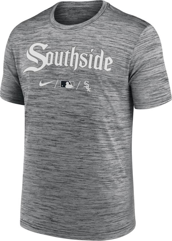Nike Men's Chicago White Sox Grey 2021 City Connect Velocity T-Shirt product image
