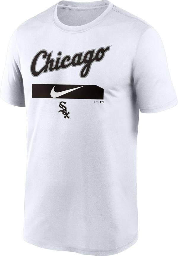 Nike Men's Chicago White Sox White Practice Cotton T-Shirt product image