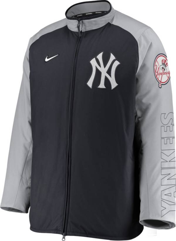 Nike Men's New York Yankees Blue Authentic Collection Dugout Full-Zip Jacket product image