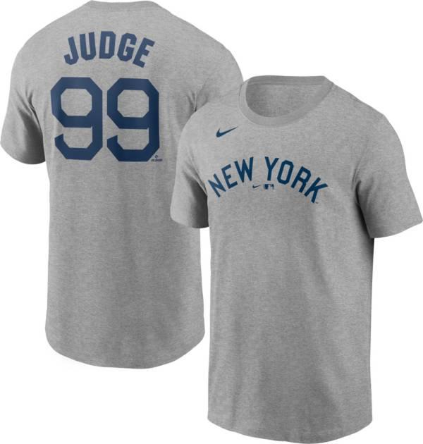 Nike Men's New York Yankees Aaron Judge #99 Grey T-Shirt product image