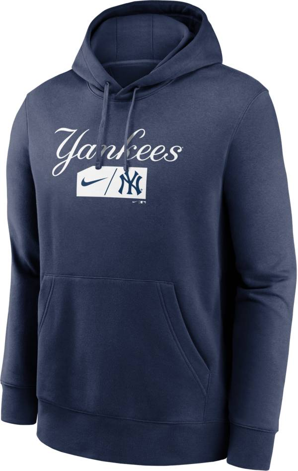 Nike Men's New York Yankees Navy Club Pullover Hoodie product image